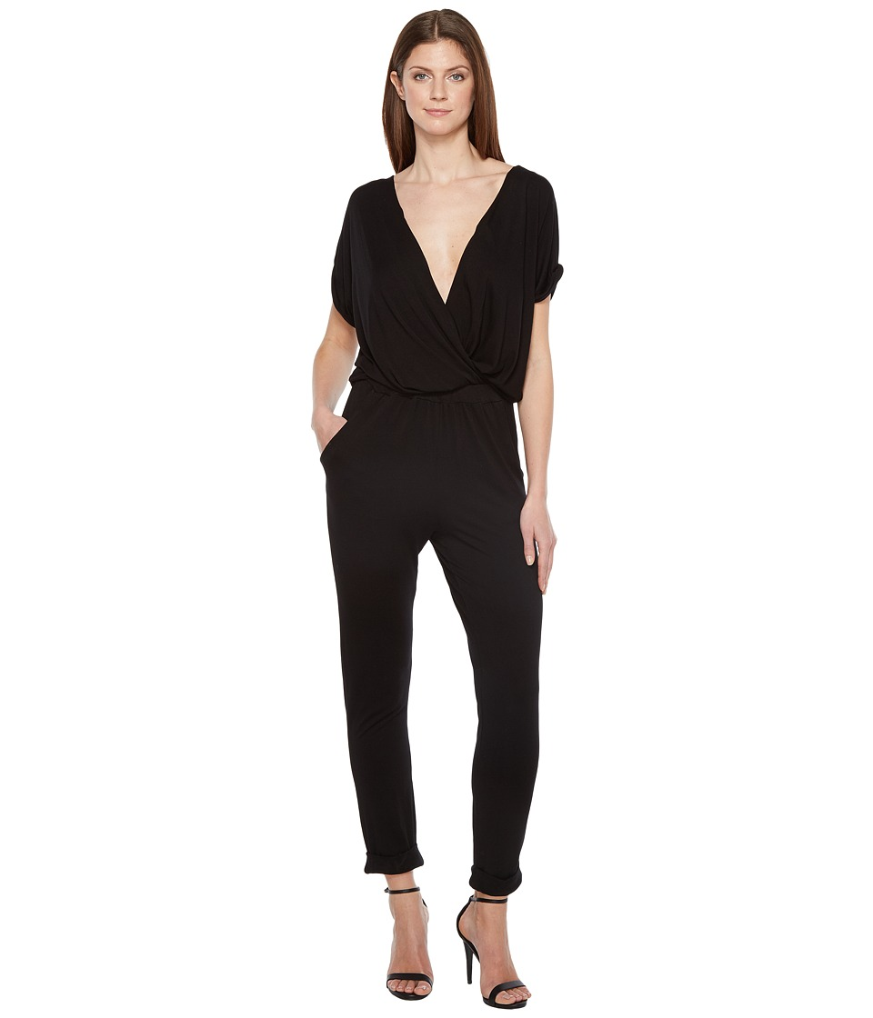 Young Fabulous & Broke - Colleen Jumpsuit (Solid Black) Women's Jumpsuit & Rompers One Piece
