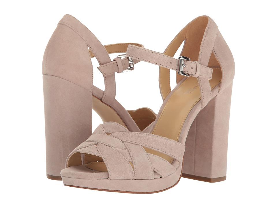 MICHAEL Michael Kors - Annaliese Platform (Mink) Women's Shoes