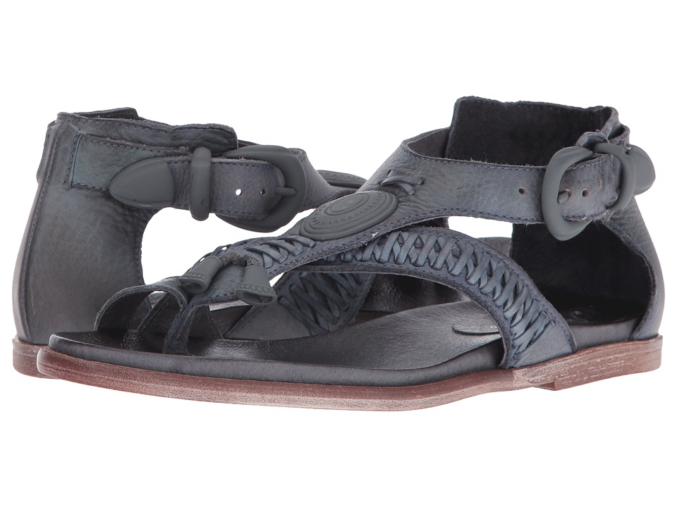 Free People - Lone Star Sandal (Dark Grey) Women's Sandals