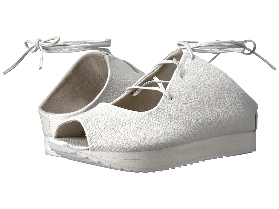 Free People - Christie Flatform (White) Women's Flat Shoes