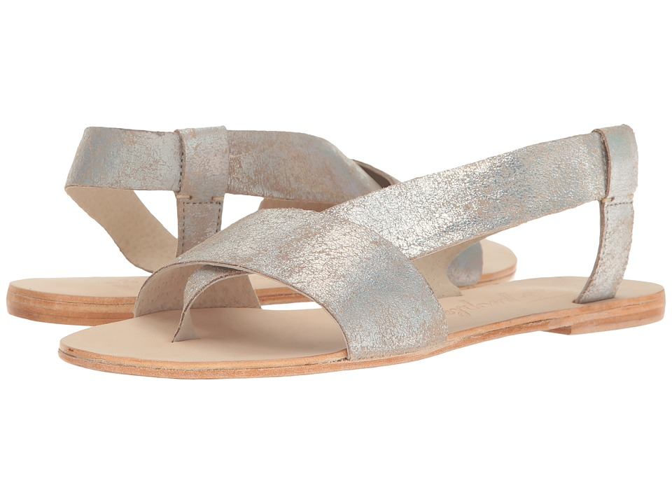 Free People - Under Wraps Sandal (Silver) Women's Sandals