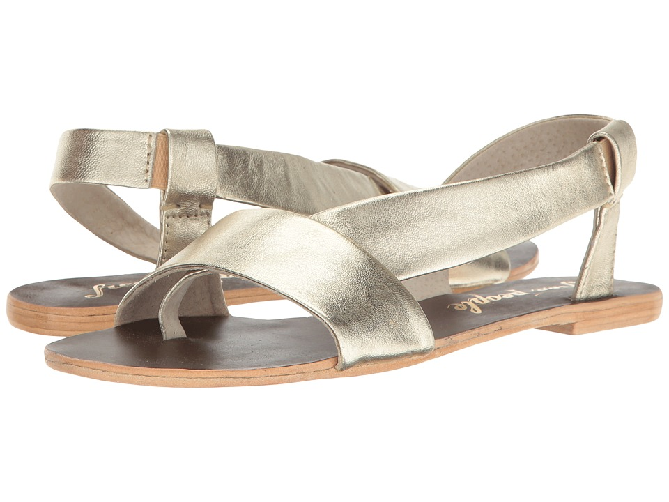 Free People - Under Wraps Sandal (Gold) Women's Sandals