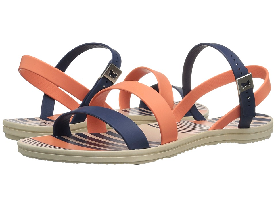 ZAXY - Urban (Navy/Orange) Women's Sandals