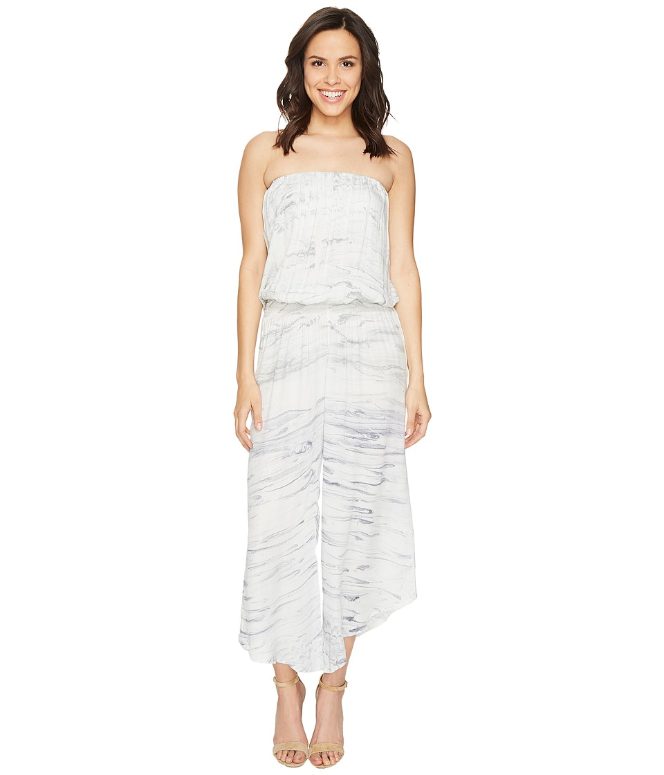 Young Fabulous & Broke - Aviana Jumpsuit (Ink Marble) Women's Jumpsuit & Rompers One Piece