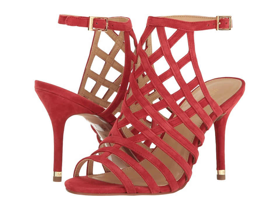 MICHAEL Michael Kors - Trinity Sandal (Bright Red) Women's Dress Sandals