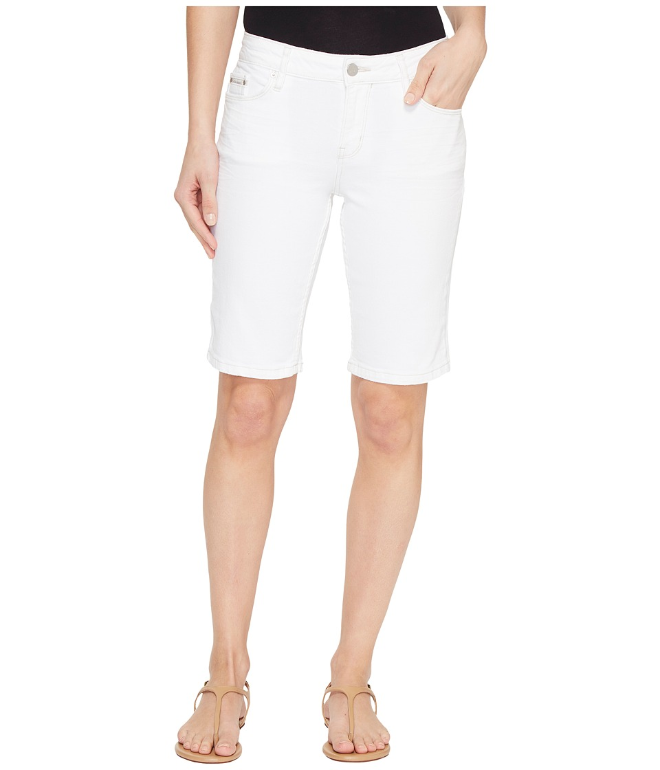 Calvin Klein Jeans - City Shorts in White Light Wash (White Light) Women's Shorts