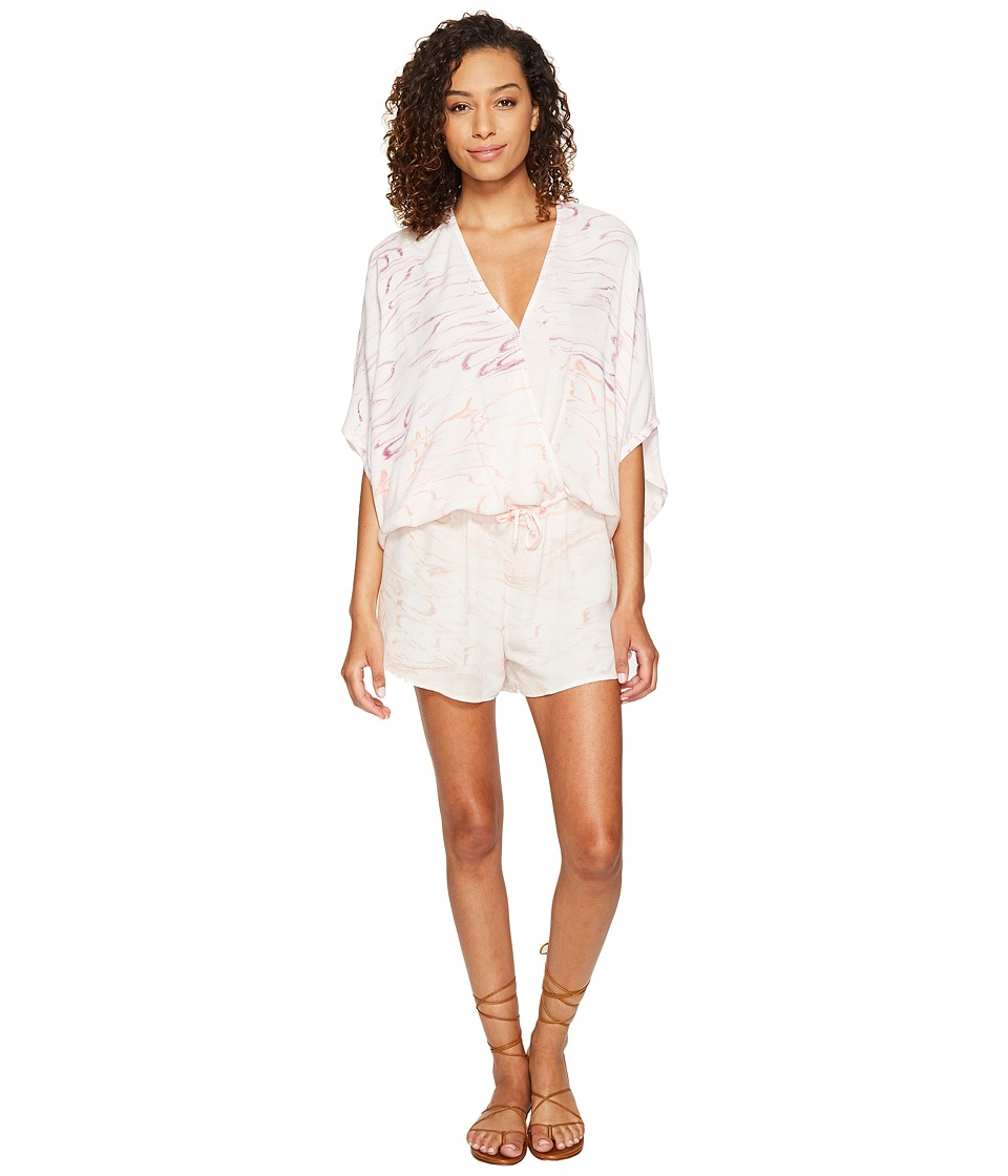 Young Fabulous & Broke - Ashley Romper (Mulberry Marble Wash) Women's Jumpsuit & Rompers One Piece