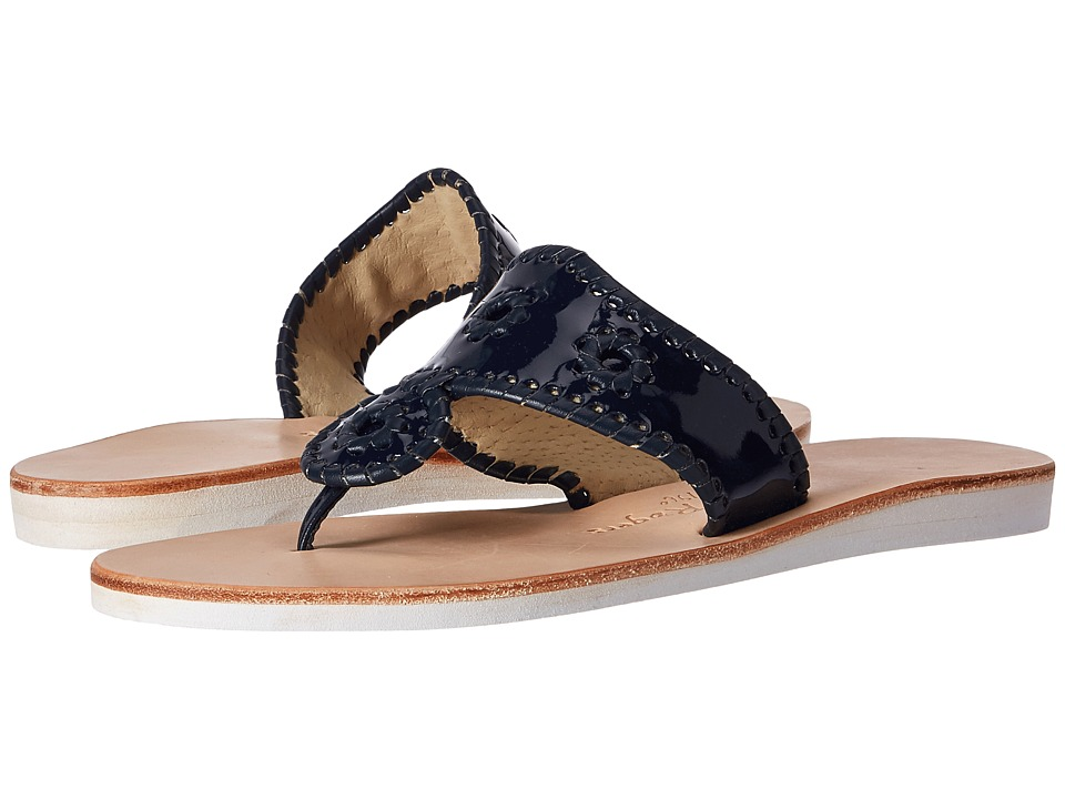 Jack Rogers - Boating Jacks (Midnight/Midnight) Women's Sandals