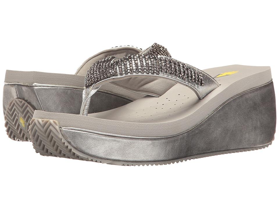 VOLATILE - Positano (Silver) Women's Sandals