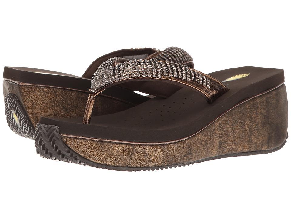 VOLATILE - Positano (Bronze) Women's Sandals