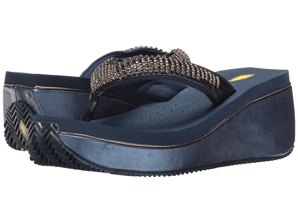 VOLATILE - Positano (Navy) Women's Sandals