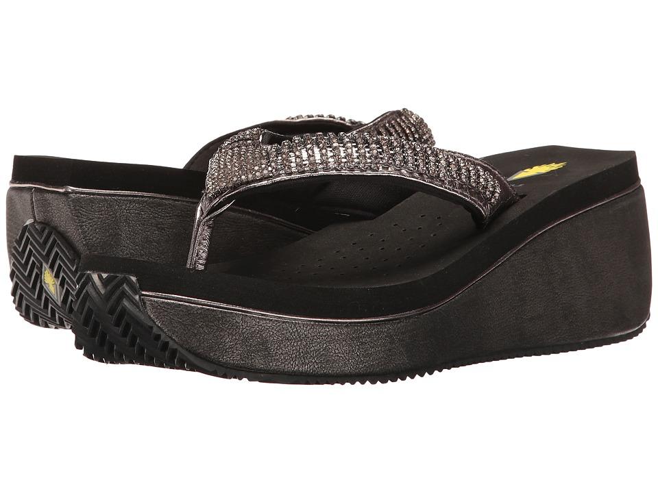 VOLATILE - Positano (Pewter) Women's Sandals