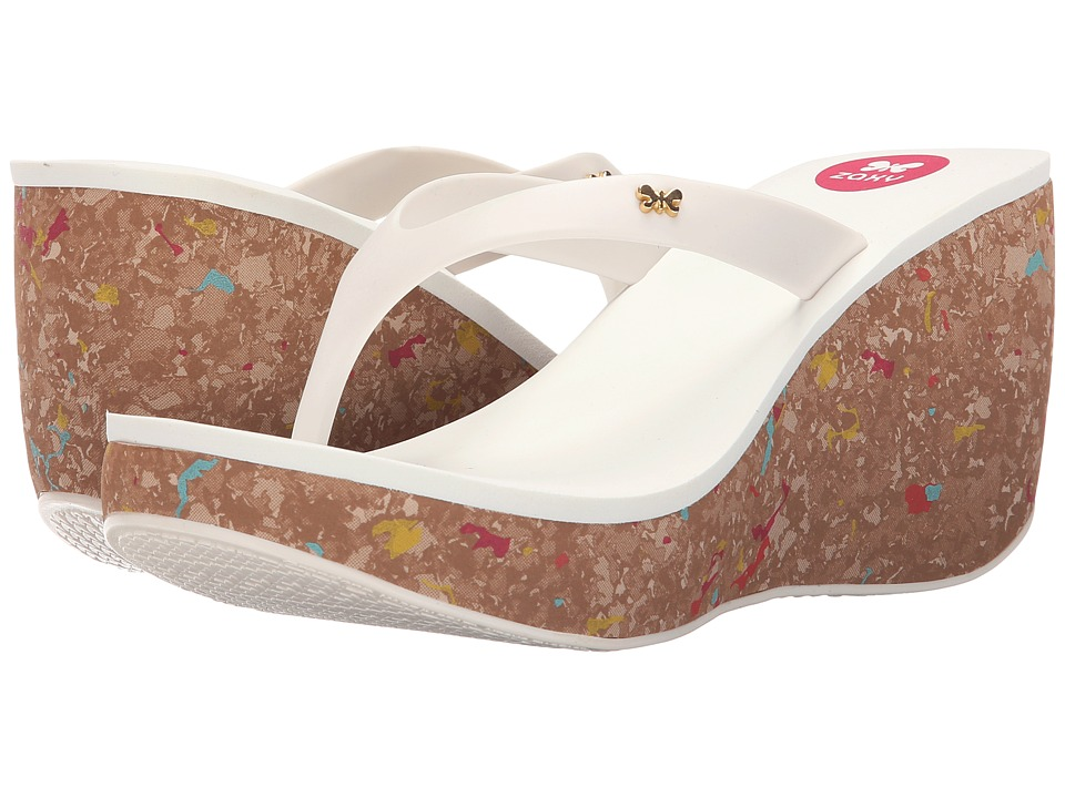 ZAXY - Fun II (White) Women's Sandals