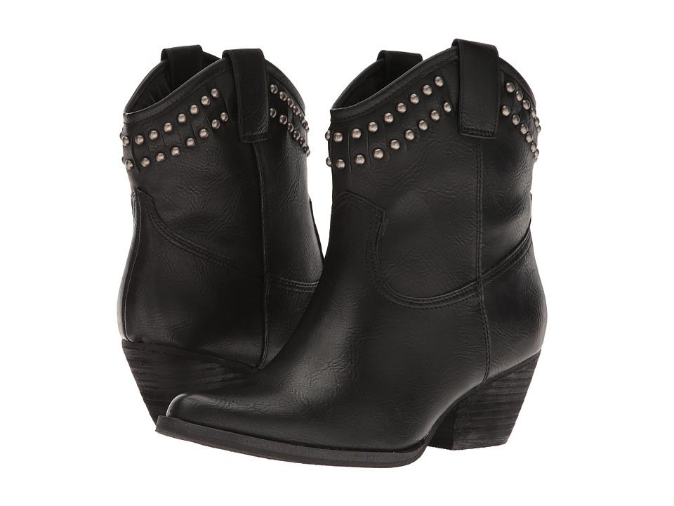VOLATILE - Saxon (Black) Women's Boots
