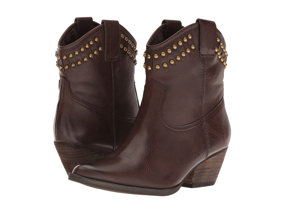 VOLATILE - Saxon (Brown) Women's Boots