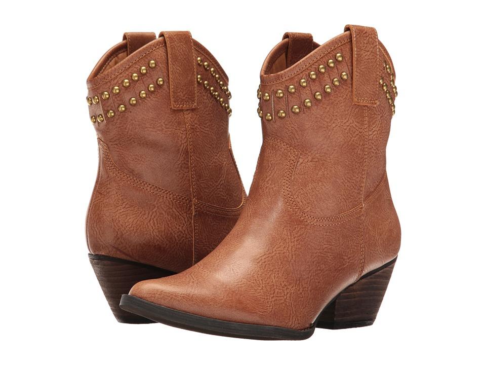 VOLATILE - Saxon (Tan) Women's Boots