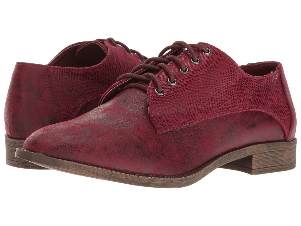 VOLATILE - Cure (Wine) Women's Lace up casual Shoes