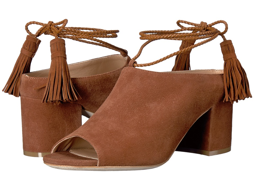 Racine Carr e - Abir (Deer Brown Suede) High Heels