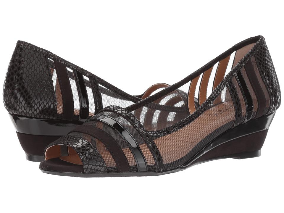 J. Renee - Florentina (Black) Women's Sandals