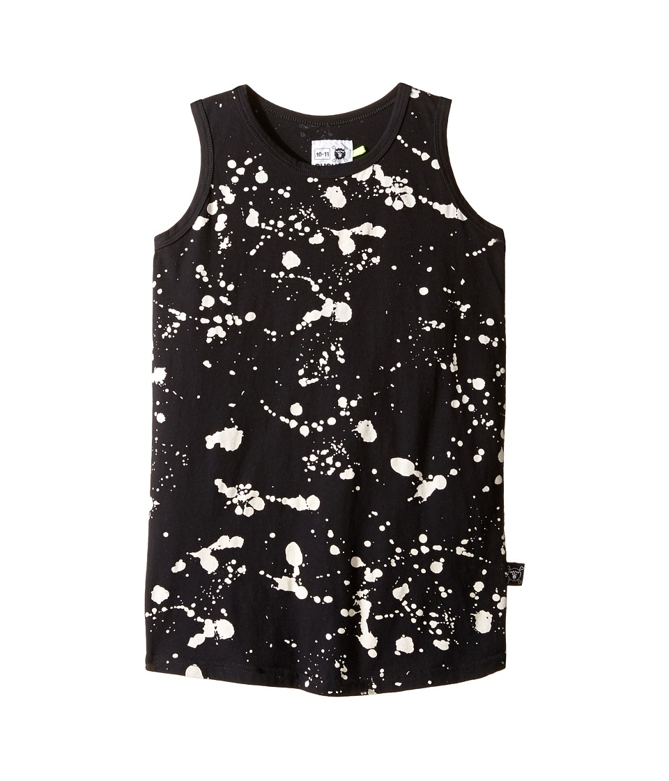 Nununu - Splash Tank Top (Little Kids/Big Kids) (Black) Kid's Sleeveless