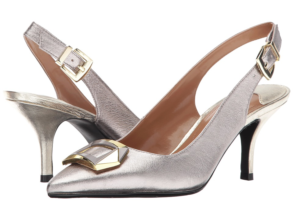J. Renee - Lloret (Taupe/Gold) Women's Sandals