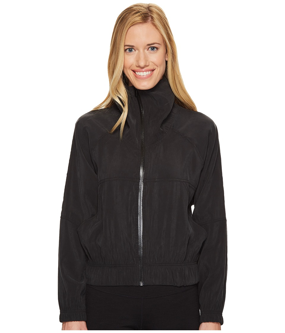 Onzie - Woven Jacket (Black) Women's Coat
