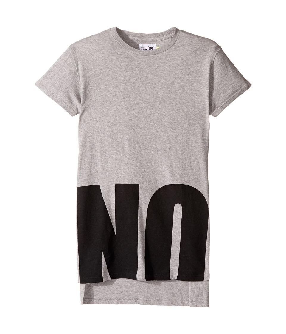 Nununu - No! T-Shirt (Little Kids/Big Kids) (Heather Grey) Kid's T Shirt