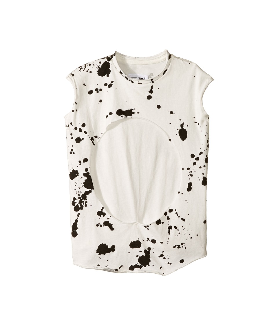 Nununu - Sleeveless Layered Shirt (Toddler/Little Kids) (White) Kid's Clothing