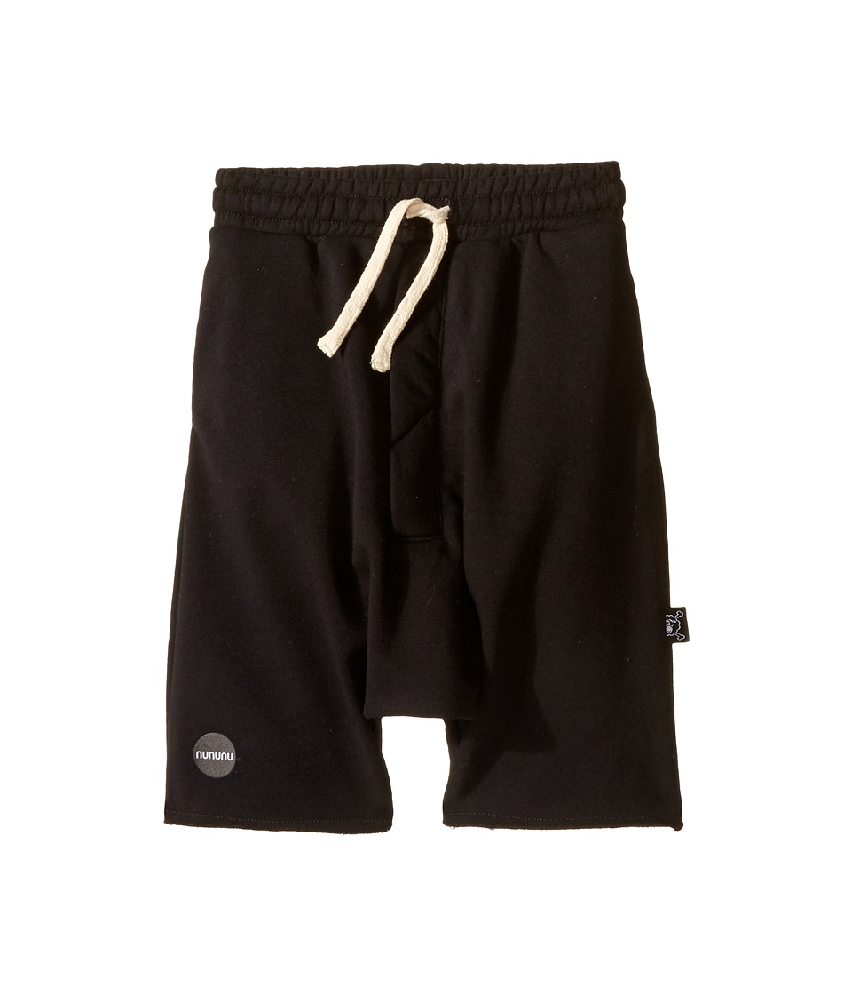 Nununu - Oversized Shorts (Infant/Toddler/Little Kids) (Black) Boy's Shorts