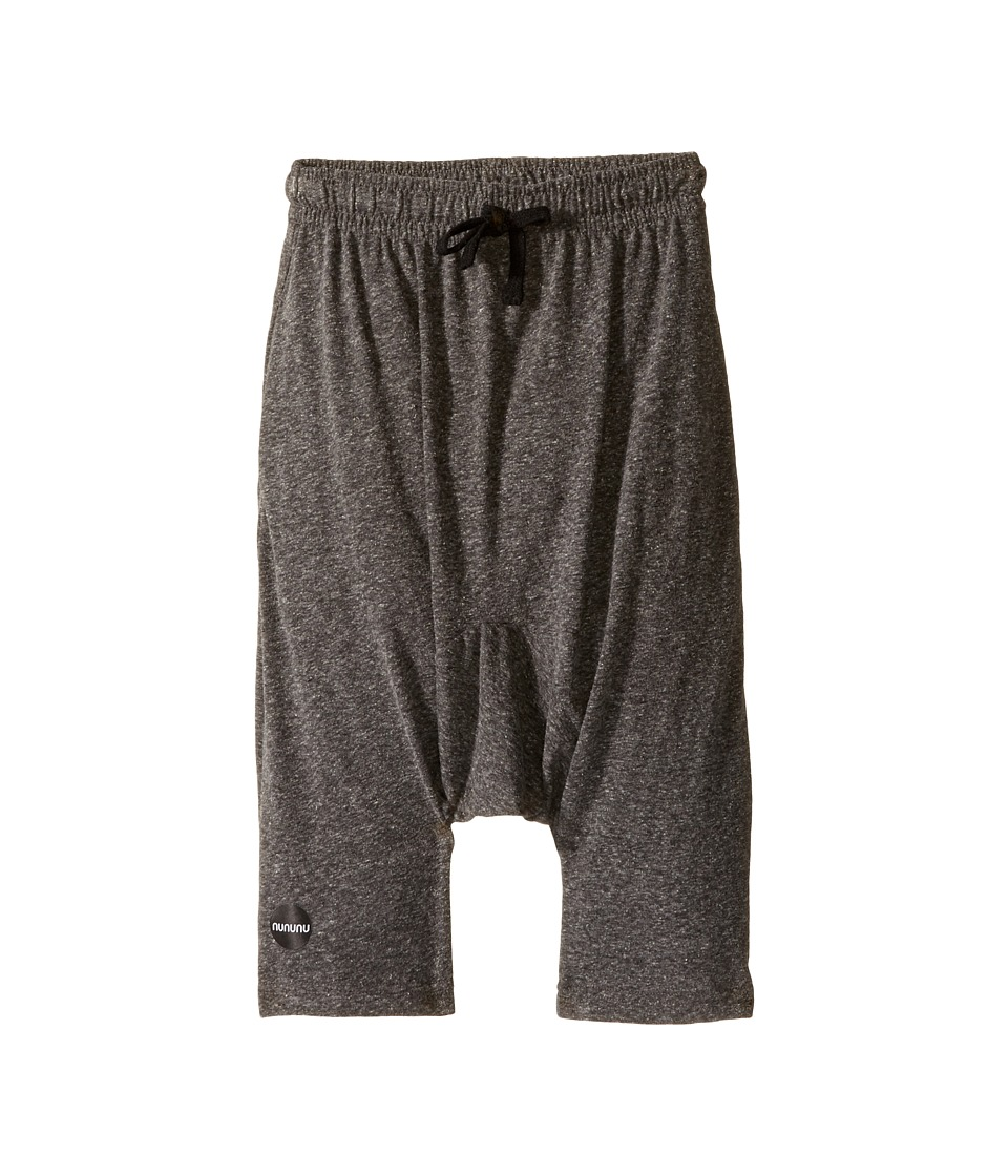 Nununu - 3/4 Pants (Little Kids/Big Kids) (Charcoal) Boy's Casual Pants