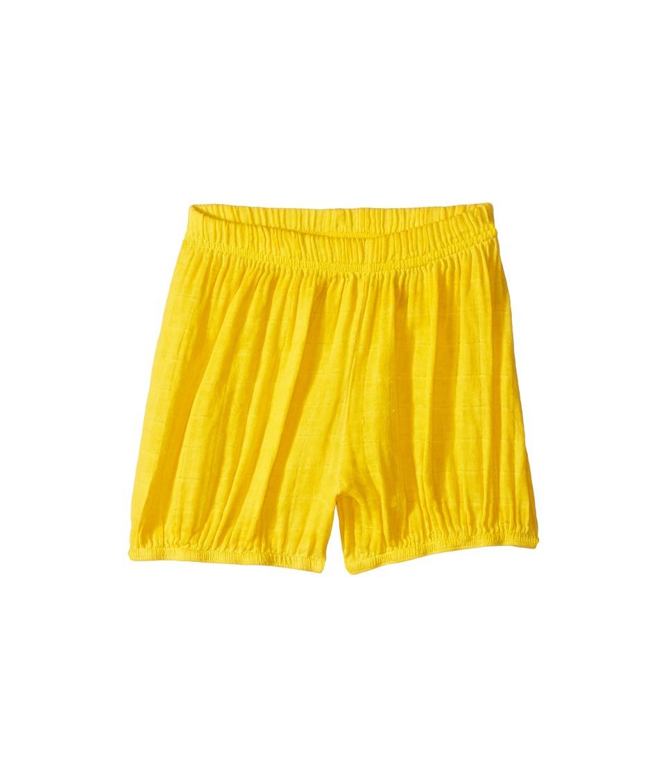 Nununu - Muslin Yoga Shorts (Little Kids/Big Kids) (Dusty Yellow) Kid's Shorts