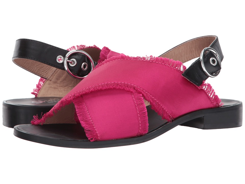 Shellys London Endy Crossband Sandal (Fuchsia) Women