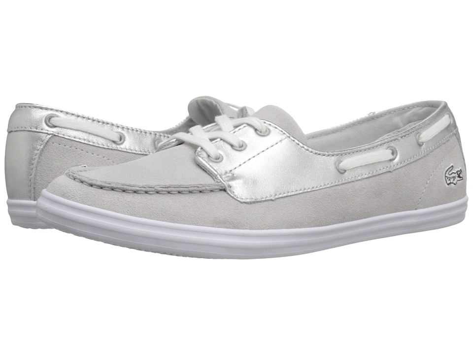 Lacoste - Ziane Desk 116 (Silver) Women's Shoes