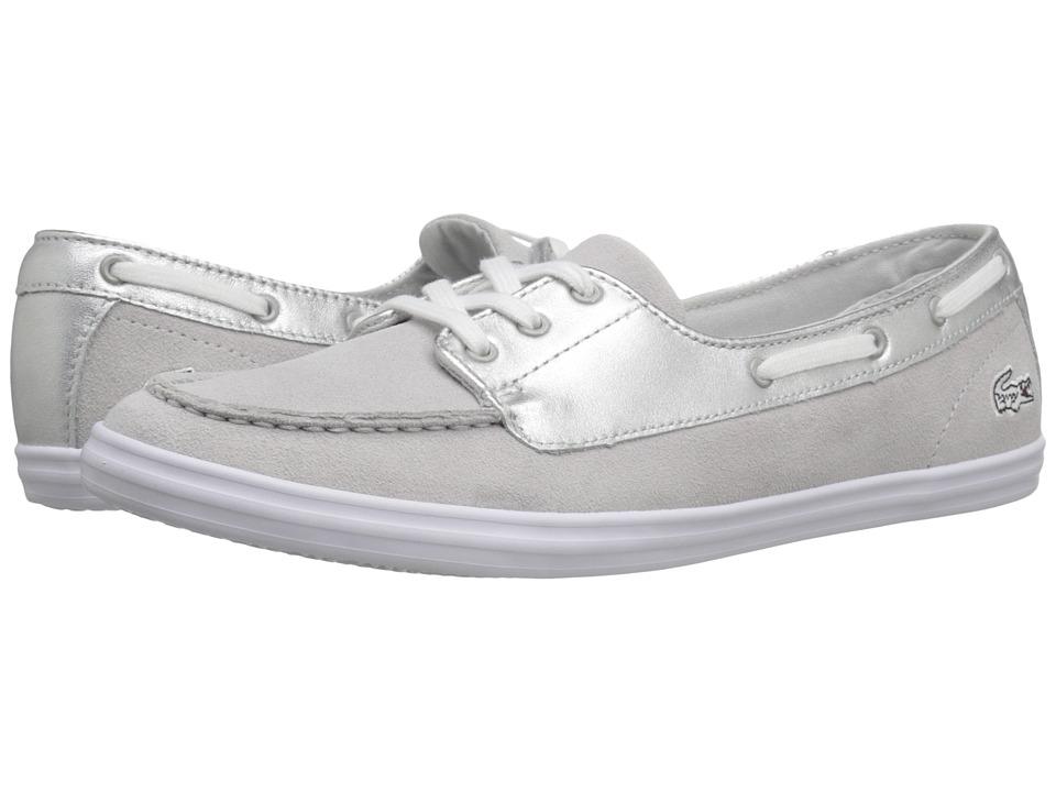 Lacoste - Ziane Desk 116 (Silver) Women's Shoes