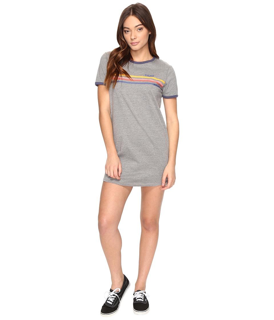 Vans - Night Fever Dress (Grey Heather) Women's Dress