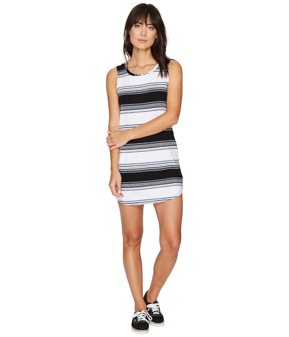 Vans Tropic Stripe Tank Dress II (Black) Women