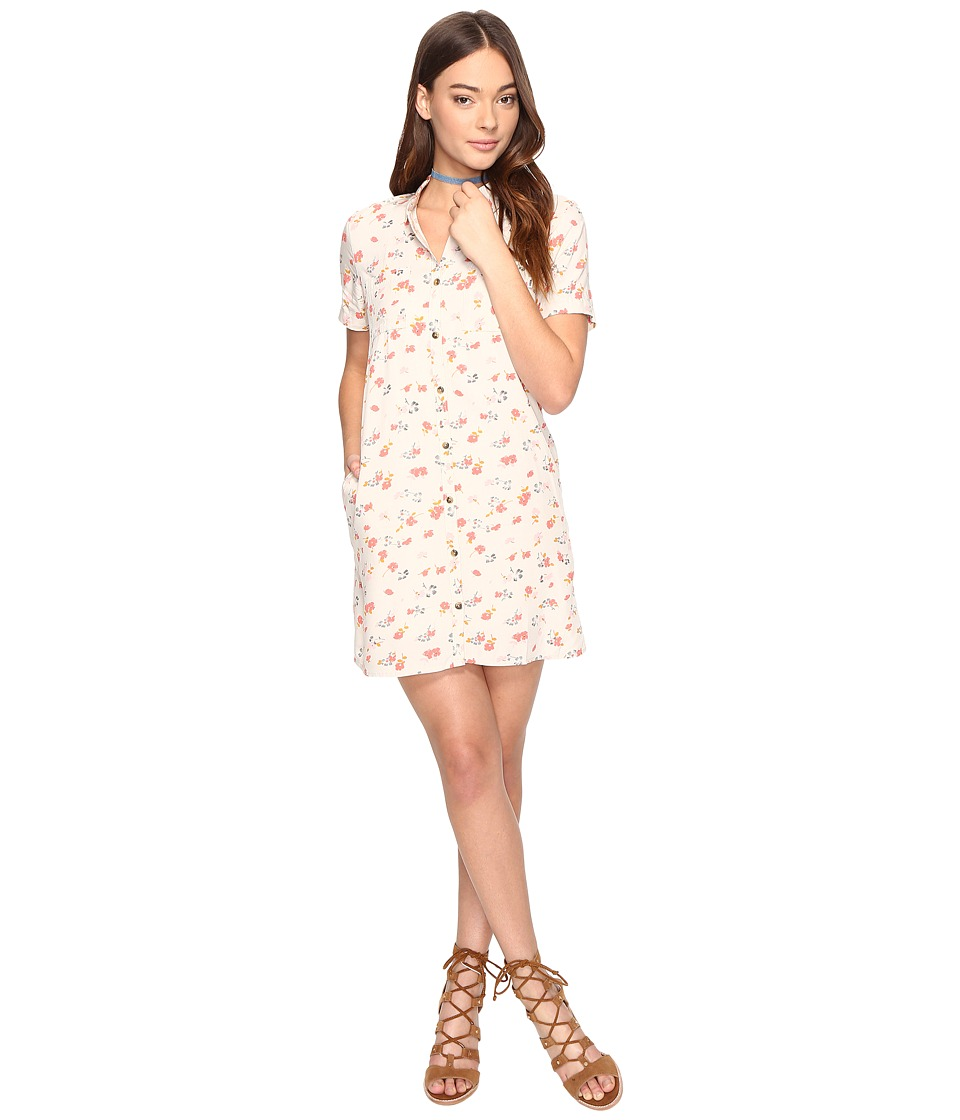 Vans - Mean Streets Dress (White Sand 70s Floral) Women's Dress