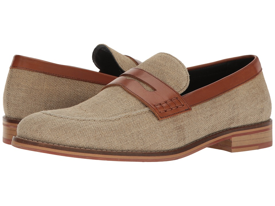 Original Penguin - Bailey (Cream/Tan) Men's Slip on Shoes
