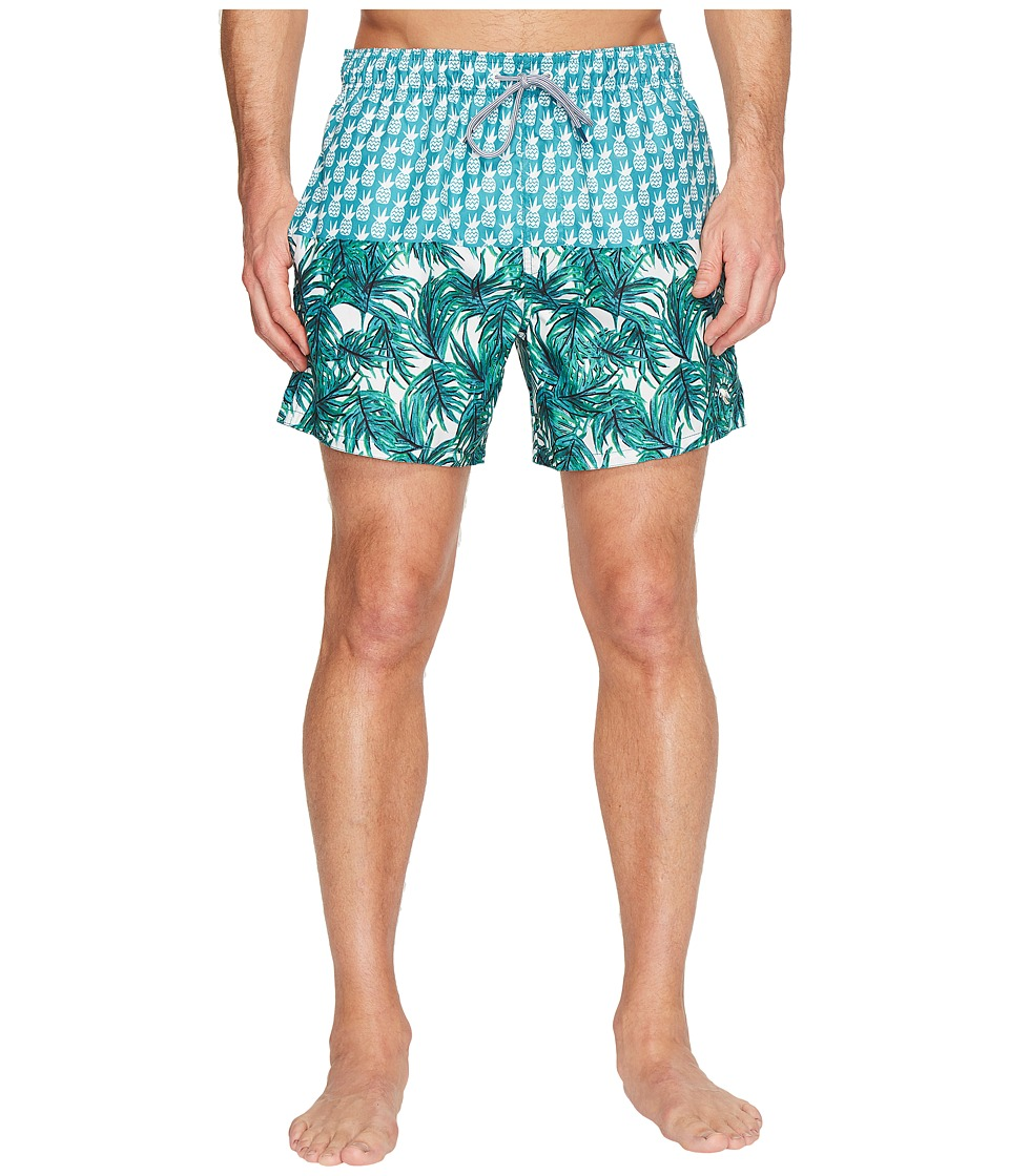 Ted Baker - Pineblo (Teal) Men's Swimwear