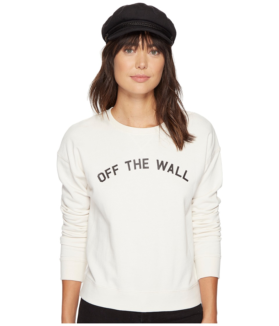 Vans - Seniors Only Crew (White Sand) Women's Clothing