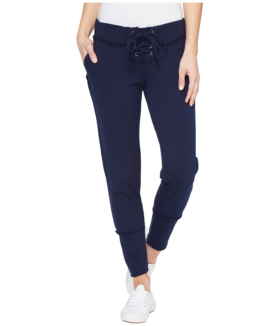 Young Fabulous & Broke - Kelela Crop Pants (Ink Solid) Women's Casual Pants