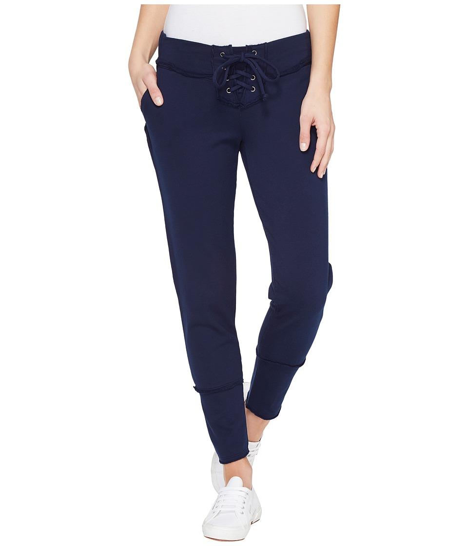 Young Fabulous & Broke - Kelela Crop Pants (Ink Solid) Women's Casual Pants