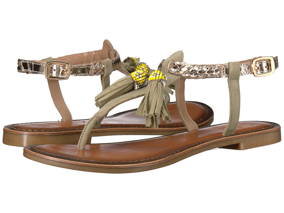 Miz Mooz - Yasmin (Olive/Gold) Women's Shoes