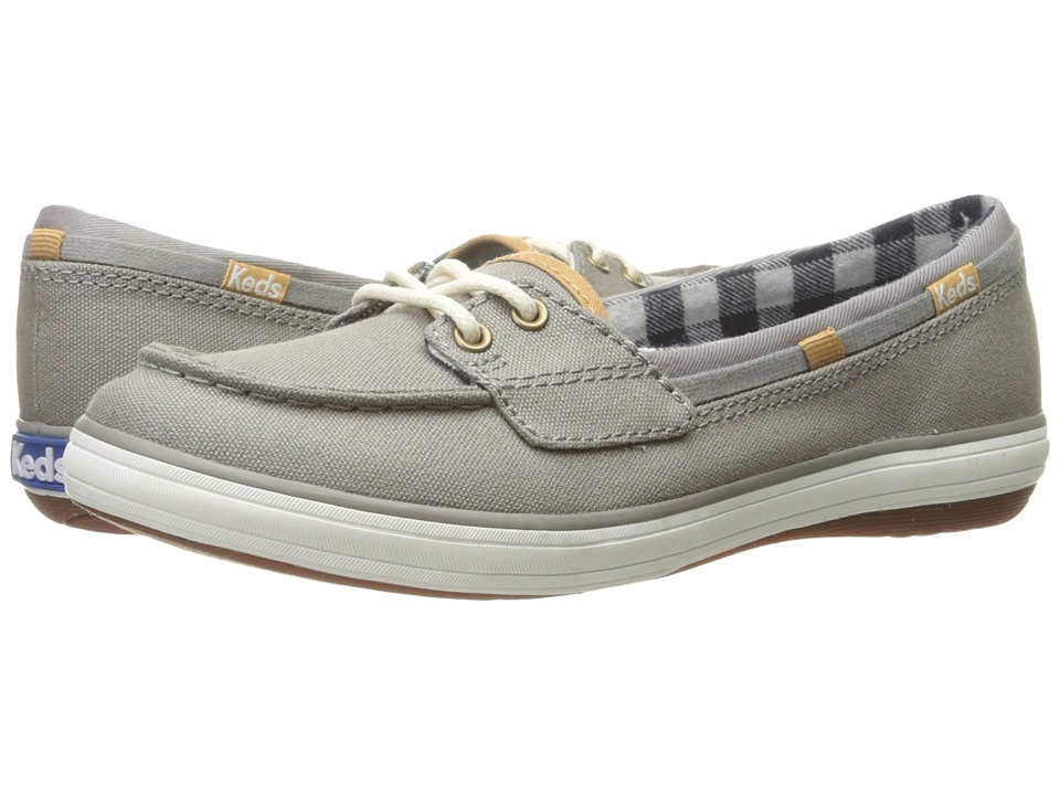 Keds - Glimmer (Grey Canvas) Women's Lace up casual Shoes