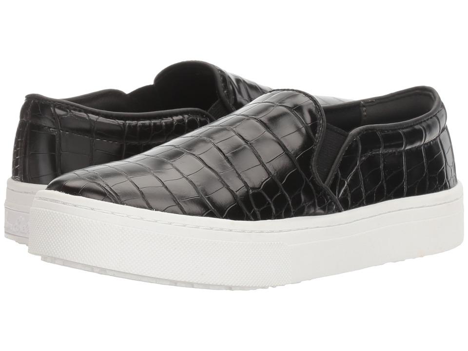 Sam Edelman - Lacey (Black Croco) Women's Slip on Shoes