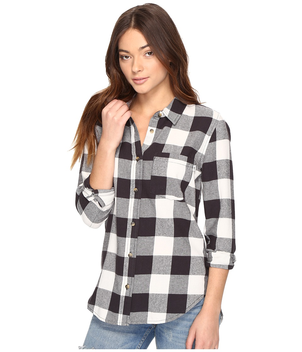 Vans - Moody Blues II Flannel (Phantom) Women's Clothing