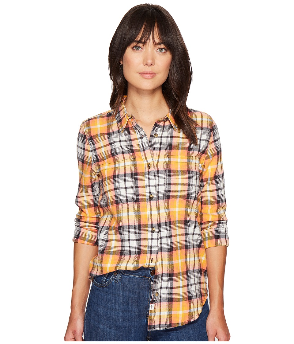 Vans - Meridian Flannel (Golden Glow) Women's Clothing