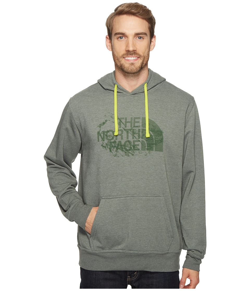 The North Face - Half Dome Pullover (Oscar Green/Heather) Men's Clothing