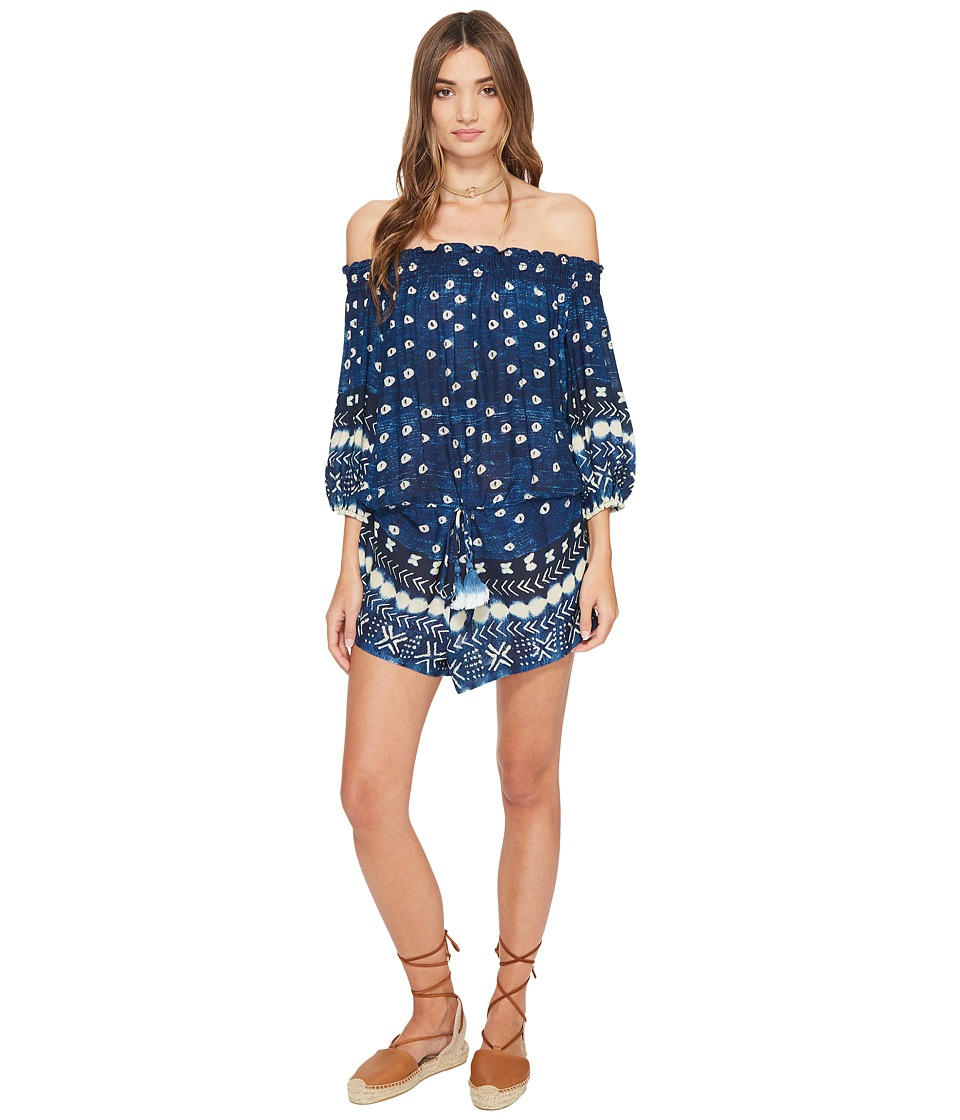 Jen's Pirate Booty - Impala Romper (Indigo) Women's Jumpsuit & Rompers One Piece