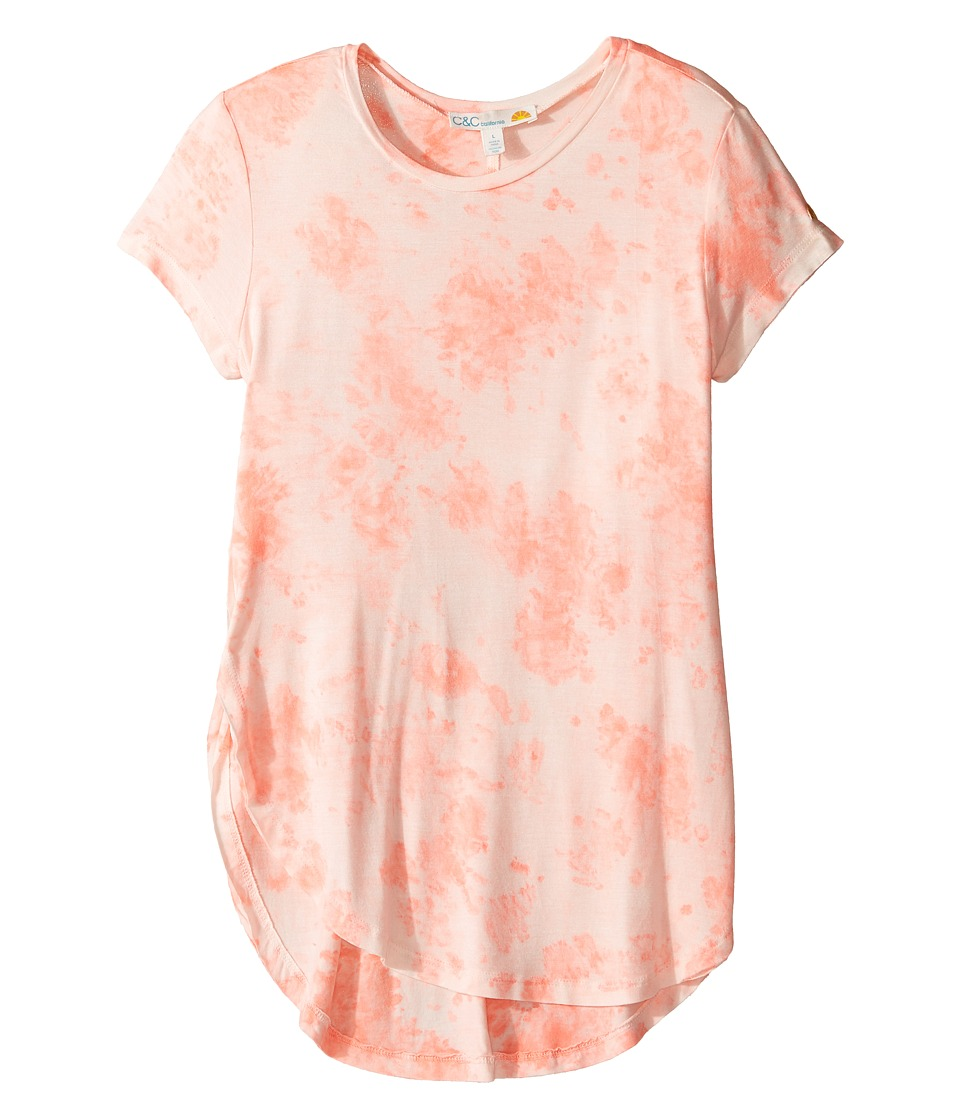 C&C California Kids - Dip-Dye Top (Little Kids/Big Kids) (Pop Cora) Girl's Clothing